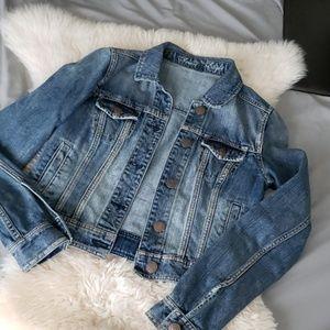 ❤HP❤American Eagle Blue denim jeans jacket
